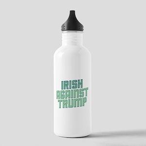 Irish Against Trump Water Bottle