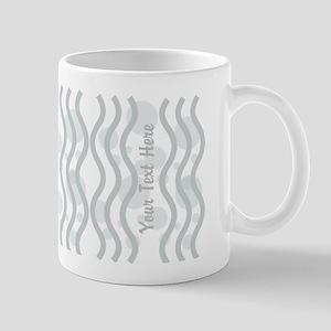 Cool Grey Pattern Mug