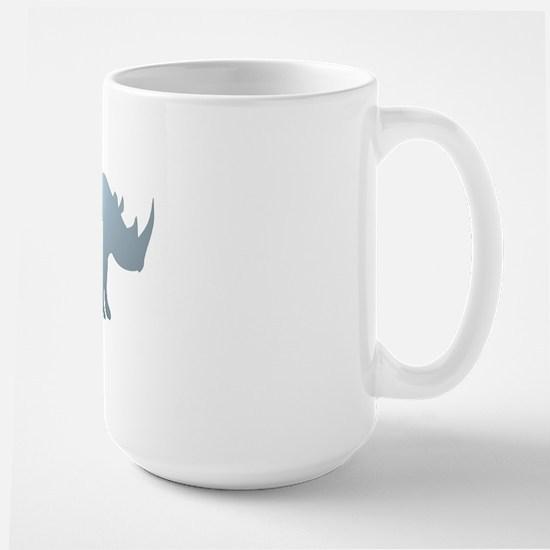 Rhinoceros Rhino Large Mug