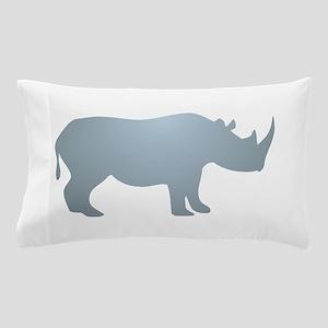 Rhinoceros Rhino Pillow Case