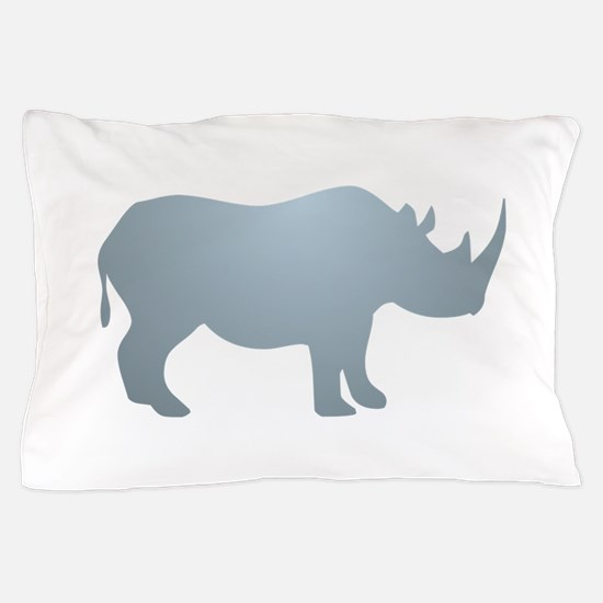 Rhinoceros Rhino Pillow Case