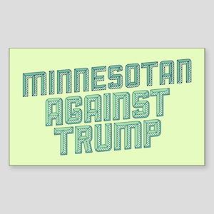 Minnesotan Against Trump Sticker