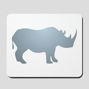 Rhinoceros Rhino Mousepad