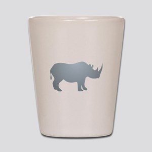 Rhinoceros Rhino Shot Glass