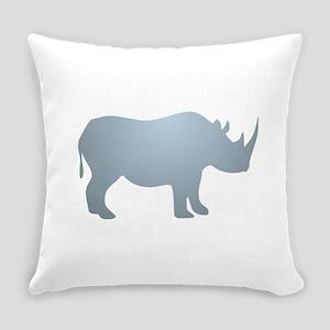 Rhinoceros Rhino Everyday Pillow