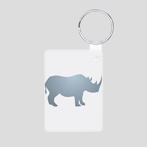 Rhinoceros Rhino Keychains