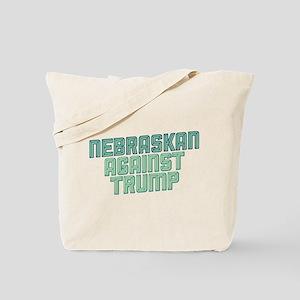 Nebraskan Against Trump Tote Bag