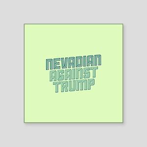 Nevadian Against Trump Sticker