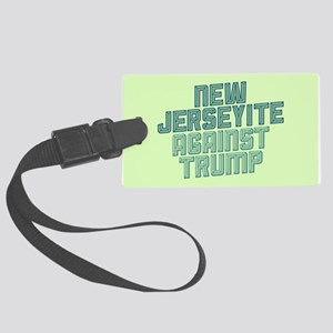 New Jerseyite Against Trump Luggage Tag