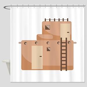 Southwest House Shower Curtain