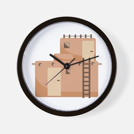 Southwest House Wall Clock