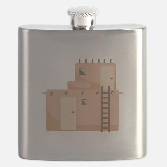 Southwest House Flask