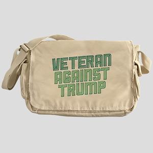 Veteran Against Trump Messenger Bag