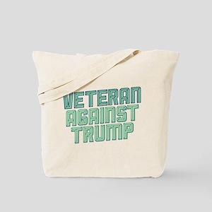 Veteran Against Trump Tote Bag