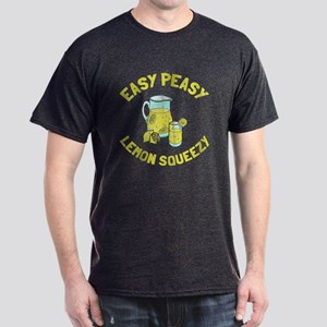 Easy Peesy Lemon Squeezy Dark T-Shirt