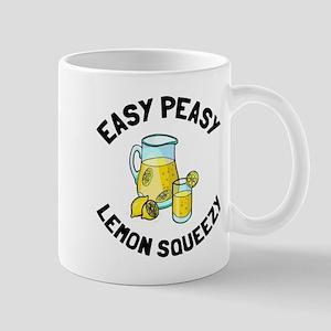 Easy Peesy Lemon Squeezy Mug