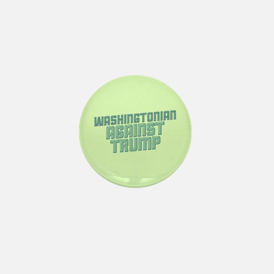 Washingtonian Against Trump Mini Button
