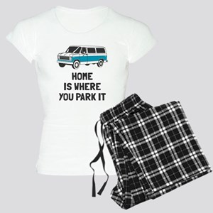 Home is where you park it Women's Light Pajamas