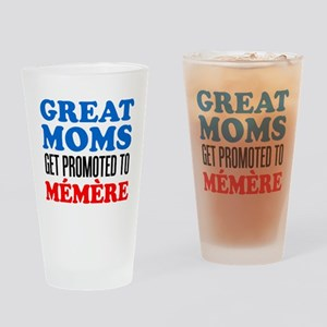 Promoted To Memere Drinkware Drinking Glass