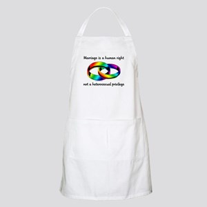 Marriage is a Human Right BBQ Apron