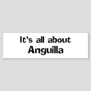 About Anguilla Bumper Sticker