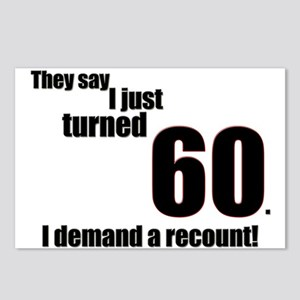 They say I just turned 60. I Postcards (Package o