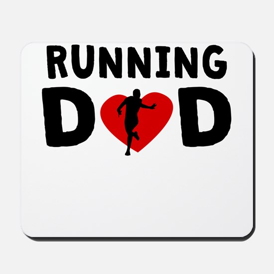 Running Dad Mousepad