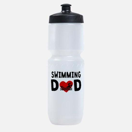 Swimming Dad Sports Bottle