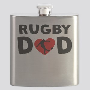 Rugby Dad Flask