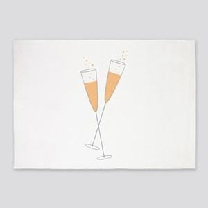 Champagne Toast 5'x7'Area Rug