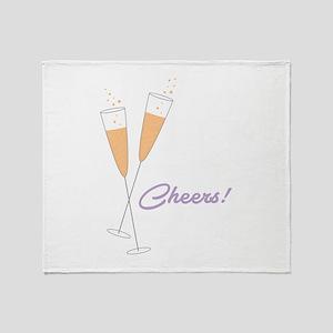 Cheers Throw Blanket