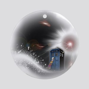 Storm Round Ornament