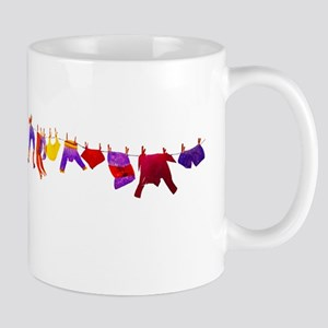 Kids clothes drying Mugs