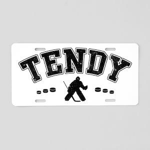 Tendy, Hockey Goalie Slang Aluminum License Plate