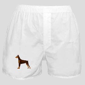 Doberman Pinscher Dog Art Boxer Shorts