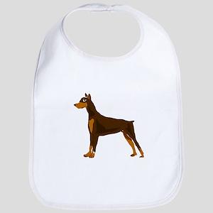 Doberman Pinscher Dog Art Bib