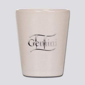 Gemini Astrology Graphic by Virginias T Shot Glass