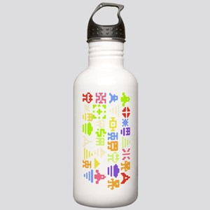 Retro 8bit Pixel Arcad Stainless Water Bottle 1.0L