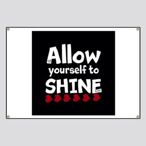 Allow yourself to SHINE! Banner