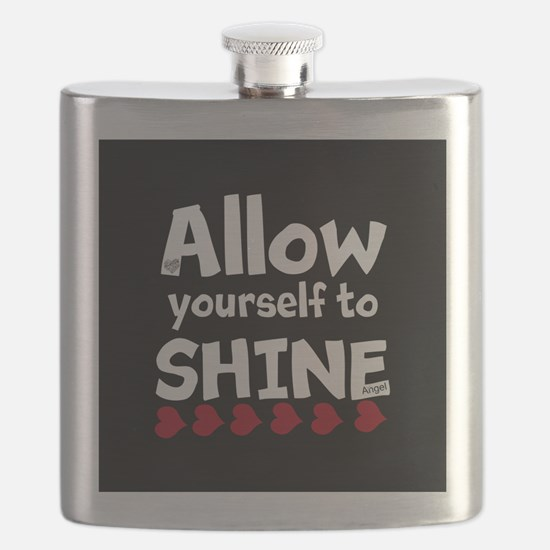 Allow yourself to SHINE! Flask