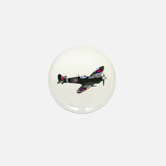 SPITFIRE PLANE LARGE Mini Button