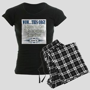 Slow Start Women's Dark Pajamas