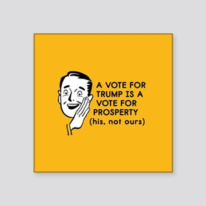 Anti Trump Prosperity Sticker