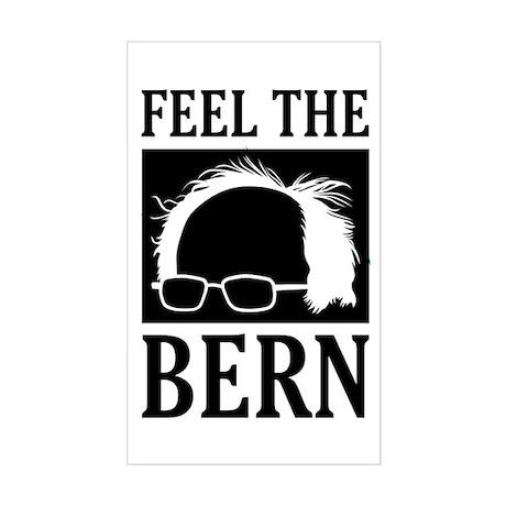 Feel the Bern [Hair] Sticker