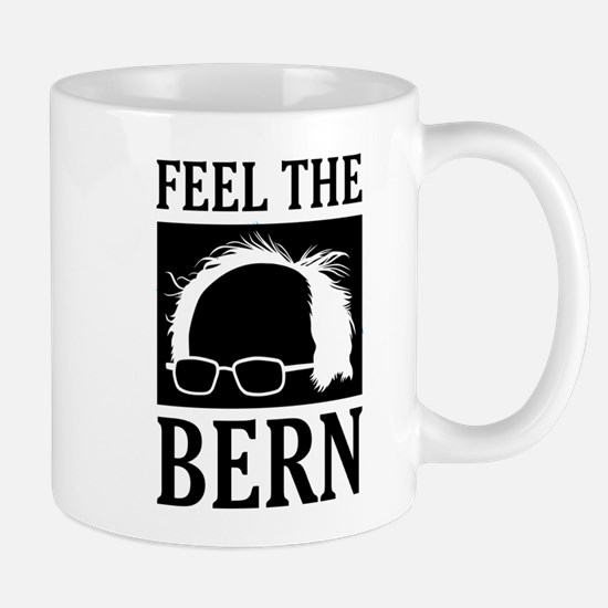 Feel the Bern [Hair] Mugs