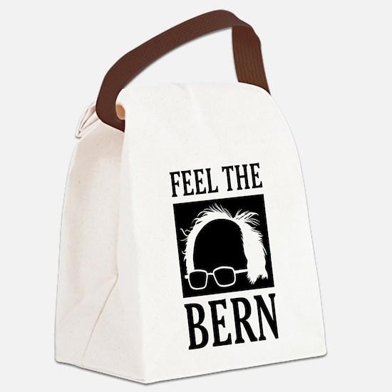 Feel the Bern [Hair] Canvas Lunch Bag