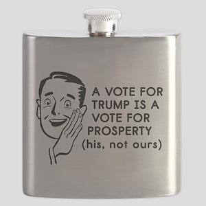 Anti Trump Prosperity Flask