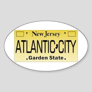 Atlantic City NJ Tag Giftware Sticker