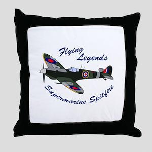 FLYING LEGENDS Throw Pillow