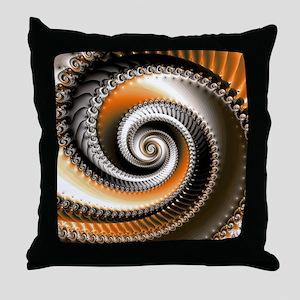 Intervolve Orange Throw Pillow